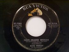"ELVIS PRESLEY ""HARD HEADED WOMAN / DON'T ASK ME WHY"" 45"