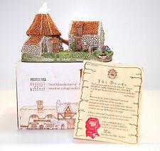 Lilliput Lane Preston Mill 1987 Vers #2 - The Scottish Collection Mib w/Deeds