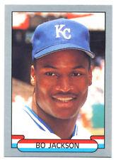 Bo Jackson 1989 Silver Border Star Card #1; NM-Mint; Kansas City Royals