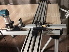 1.2m Circular Saw Guide Track + Router Trimmer Slotting and cutting guide