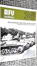 PROFILE PUBLICATIONS AFV #36: CHARS HOTCHKISS H35 H39 AND SOMUA S35