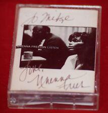 Nnena Freelon - Listen - Signed Autographed Audio Cassette Tape