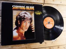 STAYING ALIVE BOF BEE GEES LP 33T VINYLE VG COVER VG ORIGINAL 1983