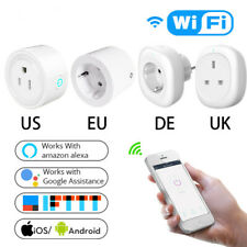 WiFi Smart Socket Power Plug Outlet Remote Control Energy Monitor Works