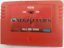 SALE Sega Pseudo Saturn v6.314  4M Extension RAM Cartriage Console Action replay