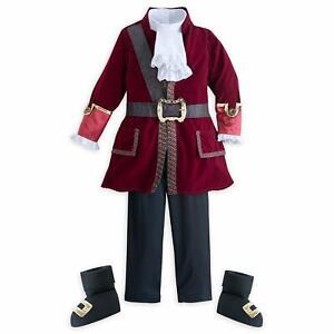 Disney Captain Hook Costume for Boys – Peter Pan 5/6