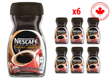 NESCAFE Hazelnut Instant Coffee jar 6 x 170g, New, CANADIAN MADE