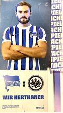 Hertha BSC*Programm*Wir Herthaner*Eintracht Frankfurt*25.09.2020*1. Bundesliga
