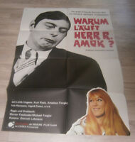 A1-Filmplakat - WARUM LÄUFT HERR R AMOK - Rainer Werner Fassbinder.Kurt Raab