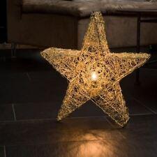Hanging Metal Star (Brass Finish)