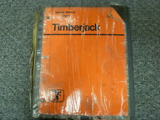 Timberjack T25 Series 2520 2518 2515 Feller Buncher Shop Service Repair Manual