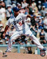 Javy Guerra Signed 8X10 Photo Autograph LA Dodgers Home Pitching Auto w/COA