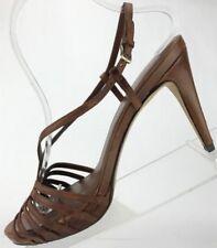 Cole Haan NikeAir Heels - Strappy Open Toe Slingback Sandals Women's 9 B Brown