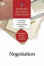 Harvard Business Essentials Guide to Negotiation