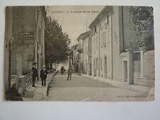 CPA - DROME - LORIOL - avenue de la gare