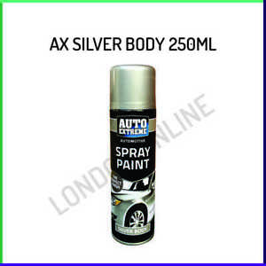 Auto Extreme Silver Body Matt Finish Spray Paint Restore Metal 250ml