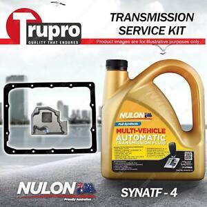 Nulon SYNATF Transmission Oil + Filter Kit for Holden Rodeo TF91 TF GR R7 Piazza
