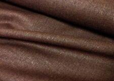 3mts IRISH BROWN LINEN FABRIC,MATERIAL 100% LINEN 140cm