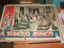 IL DIAVOLO BIANCO fotobusta piccola originale 1947 ROSSANO BRAZZI