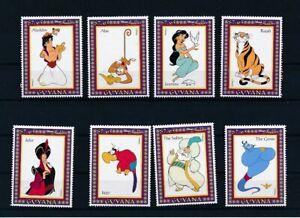 D193493 Disney Cartoons MNH Guyana