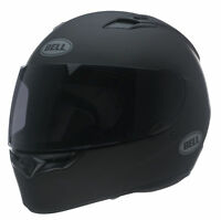 Bell Adult Matte Black Qualifier Solid Motorcycle Full Face Helmet DOT ECE