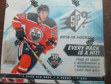 2018-19 UD SPX хоккейные хобби запечатанная коробка