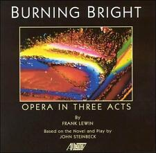 Frank Lewin: Burning Bright (Opera in Three Acts) (CD, 3 Discs, Albany)
