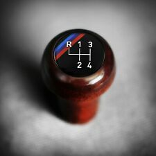 BMW Wood M-Technic 4-Speed Shift Knob Push-On E21 E23 E24 E28 E30 82110303063