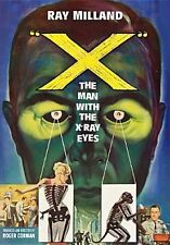 X: THE MAN WITH THE X-RAY EYES - DVD - Region 1 - Sealed