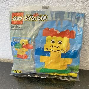 Vintage 1997 LEGO System FreeStyle #2122 Sealed bag 14 Pieces Ages 3-12 Rare HTF