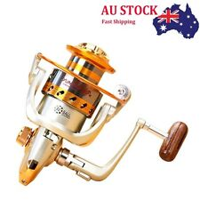 AU STOCK Metal 10BB Bearing Saltwater Spinning Drag Fishing Reels EF1000-7000