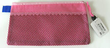 Small Pink Pencil Case With Zipper