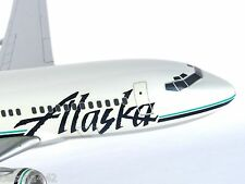 PACMIN - ALASKA AIRLINES Boeing 737-900 Aircraft Model 1/100 Collectible Gift