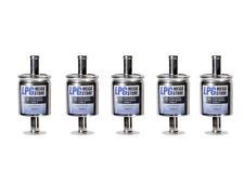 5 Stück Autogas Filter Gasfilter 12 mm LPG GPL CNG 12/12 z.B. KME BRC