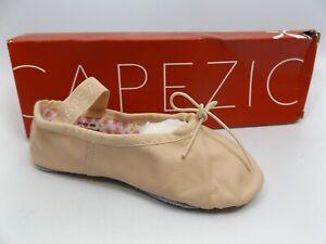 Capezio Daisy 205C Girls Ballet Leather Pink Full Sole TODDLER [SZ 7.5 M]   1162