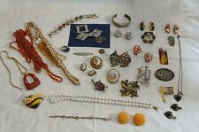 Vintage Jewelry Lot Quality Sterling Antique Haskell Juliana Hobe Art Deco PLUS!