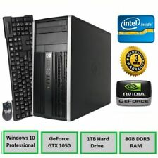 HP Gaming PC Desktop *NVIDIA GTX 1050* 8GB ram • 1TB hdd • Windows 10 • 3.0Ghz