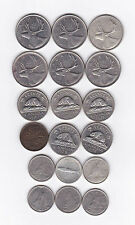 18 Special Canadian Coin Collection 1938 - 1979 25, 10, 5 & 1 Cent Copper Silver