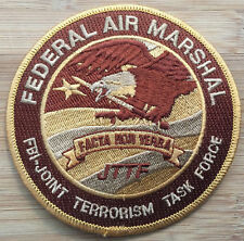 FAMS-Air Marshal Service - JTTF-Desert Camo version - Genuine *Kokopelli Patch*