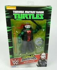 WWE Ninja Superstars Raphael as Sting Teenage Munant Ninja Turtles Figure TMNT