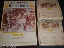 LONGINES SYMPHONETTE 2 BOXED 8-TRACK SET-THE HARD TIME 30'S-OUR CENTURY IN MUSIC