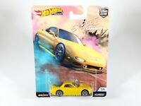 HOT WHEELS 1/64 DIECAST STREET TUNERS 95 MAZDA RX-7 2/5 NEW NOC