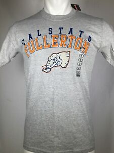 Cal State Fullerton Titans University T-Shirt CSUF Elephant Tuffy Tee Mens SMALL