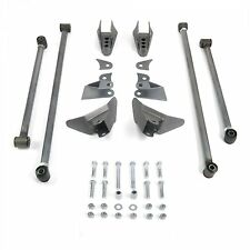 Rear Suspension Triangulated Four 4 Link Kit for 67-69 Camaro fits tci shocks