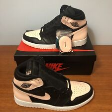 promo code ec35c 1acf9 Nike Air Jordan 1 Retro High OG Crimson Tint Black Pink 555088-081 Mens US