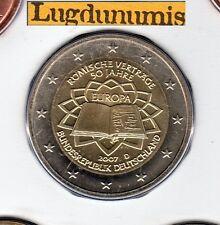 Allemagne 2007 2 Euro Traité de Rome D Munich FDC provenant coffret 70000 ex