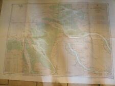 1960's NAUTICAL CHART,FEDERAL REPUBLIC OF GERMANY,NORTH SEA CHART 4836