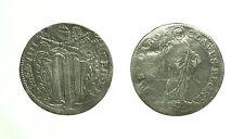 """pci3326) Roma Benedetto XIV 1740-1758  Grosso """"Tibi Dabo Claves Regni"""" carenze"""