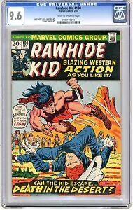 Rawhide Kid  #108  CGC  9.6  NM+   Cream to off - wht pgs  2/73 L. Lieber cover