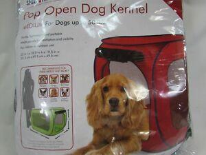"SportPet Designs Sport Pet PopOpen Dog Soft Sided Kennel Medium 32""L 48967"